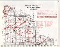 Map Image 026, Iron County 1973
